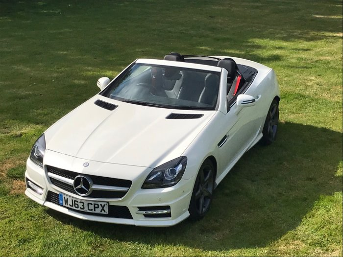 Mercedes-Benz SLK 2.1 SLK 250 CDI BlueEFFICIENCY AMG Sport 2dr Tip Auto Convertible Diesel White