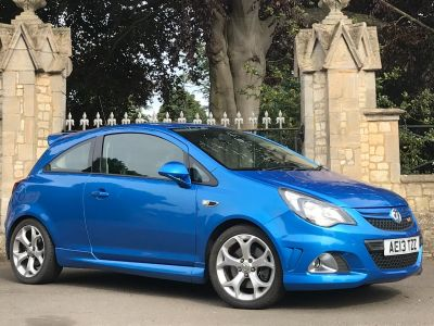 Vauxhall Corsa 1.6T VXR 3dr Hatchback Petrol BlueVauxhall Corsa 1.6T VXR 3dr Hatchback Petrol Blue at New March Car Centre March