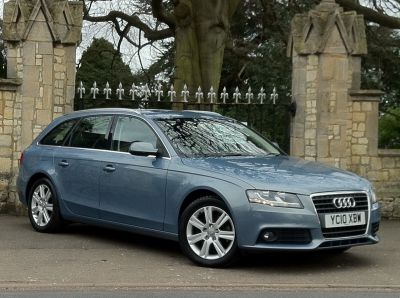 Audi A4 2.0 TDI SE 5dr Estate Diesel BlueAudi A4 2.0 TDI SE 5dr Estate Diesel Blue at New March Car Centre March