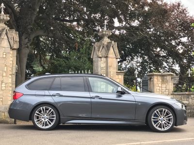 BMW 3 Series 3.0 335d xDrive M Sport 5dr Step Auto Estate Diesel GreyBMW 3 Series 3.0 335d xDrive M Sport 5dr Step Auto Estate Diesel Grey at New March Car Centre March