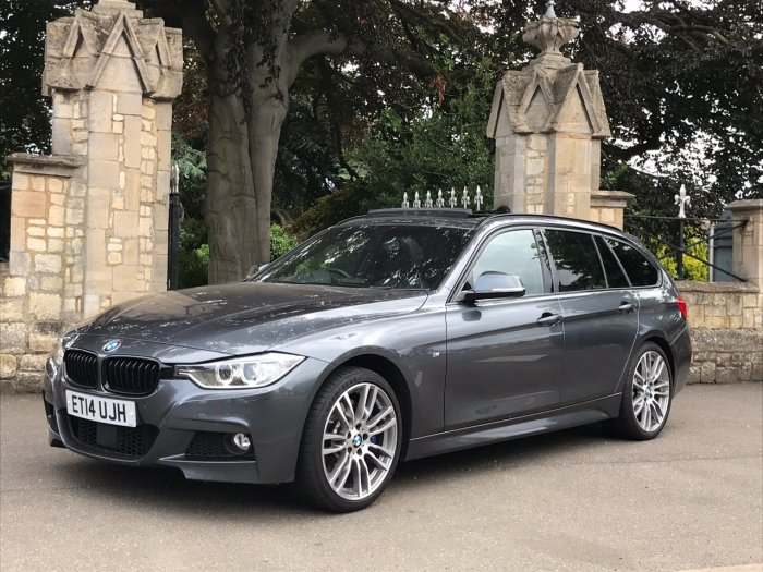 BMW 3 Series 3.0 335d xDrive M Sport 5dr Step Auto Estate Diesel Grey