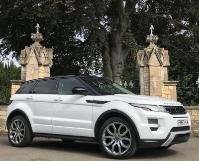 Land Rover Range Rover Evoque 2.2 SD4 Dynamic 5dr [Lux Pack] Estate Diesel WhiteLand Rover Range Rover Evoque 2.2 SD4 Dynamic 5dr [Lux Pack] Estate Diesel White at New March Car Centre March