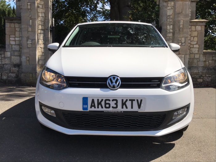 Volkswagen Polo 1.2 70 Match Edition 5dr Hatchback Petrol White