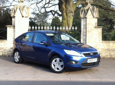 Ford Focus 1.6 Style 5dr Hatchback Petrol BlueFord Focus 1.6 Style 5dr Hatchback Petrol Blue at New March Car Centre March