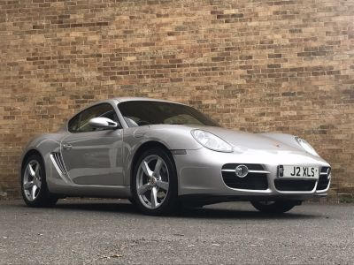 Porsche Cayman 2.7 2dr Coupe Petrol SilverPorsche Cayman 2.7 2dr Coupe Petrol Silver at New March Car Centre March