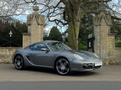 Porsche Cayman 2.7 2dr Coupe Petrol GreyPorsche Cayman 2.7 2dr Coupe Petrol Grey at New March Car Centre March