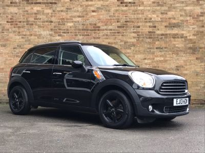 Mini Countryman 1.6 One 5dr ULEZ Hatchback Petrol BlackMini Countryman 1.6 One 5dr ULEZ Hatchback Petrol Black at New March Car Centre March