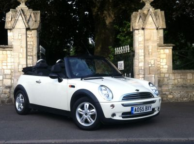 Mini Convertible 1.6 One 2dr Convertible Petrol WhiteMini Convertible 1.6 One 2dr Convertible Petrol White at New March Car Centre March