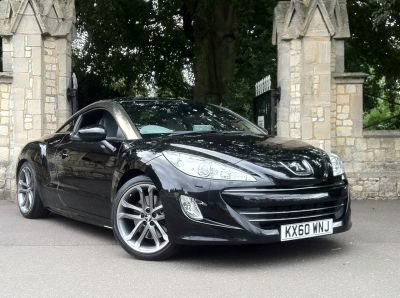 Peugeot RCZ 1.6 THP GT [200] 2dr Coupe Petrol BlackPeugeot RCZ 1.6 THP GT [200] 2dr Coupe Petrol Black at New March Car Centre March