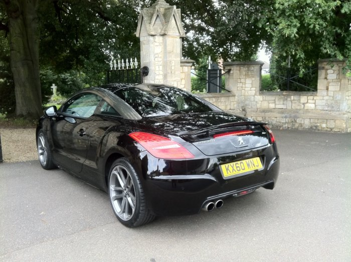 used peugeot rcz 1 6 thp gt 200 2dr for sale in march cambridgeshire new march car centre. Black Bedroom Furniture Sets. Home Design Ideas
