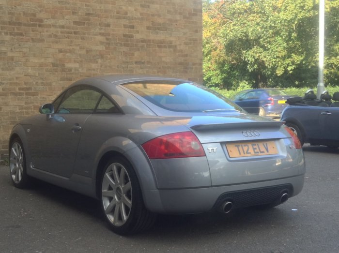 second hand audi tt 1 8 t quattro 2dr 225 for sale in march cambridgeshire new march car centre. Black Bedroom Furniture Sets. Home Design Ideas