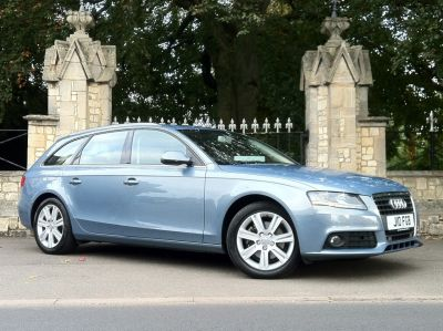 Audi A4 2.0 TDI 170 SE 5dr Estate Diesel Sphere Blue MetallicAudi A4 2.0 TDI 170 SE 5dr Estate Diesel Sphere Blue Metallic at New March Car Centre March
