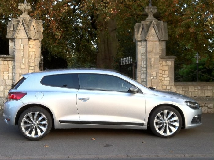 Volkswagen Scirocco 2.0 TSI 210 GT 3dr Coupe Petrol Silver