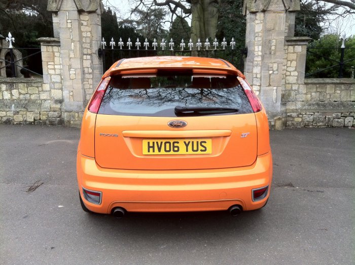 Ford Focus 2.5 ST-2 3dr Hatchback Petrol Orange