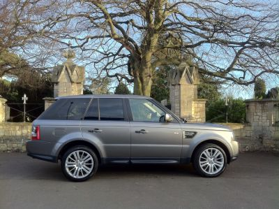 Land Rover Range Rover Sport 3.0 TDV6 HSE 5dr CommandShift Estate Diesel GreyLand Rover Range Rover Sport 3.0 TDV6 HSE 5dr CommandShift Estate Diesel Grey at New March Car Centre March
