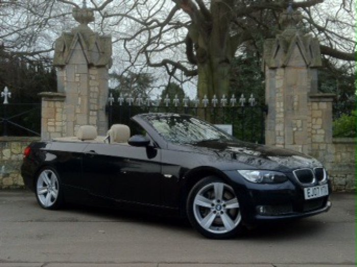 BMW 3 Series 3.0 335i SE 2dr Step Auto Convertible Petrol Black