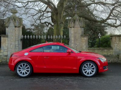 Audi TT 3.2 V6 Quattro 2dr Coupe Petrol RedAudi TT 3.2 V6 Quattro 2dr Coupe Petrol Red at New March Car Centre March