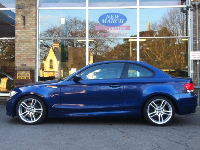 second hand bmw 1 series 123d m sport 2dr for sale in. Black Bedroom Furniture Sets. Home Design Ideas