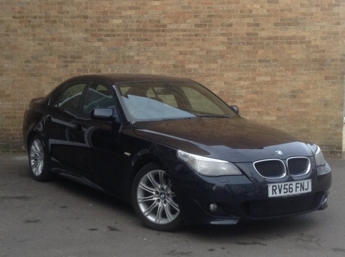 BMW 5 Series 2.0 520d M Sport 4dr Saloon Diesel Black