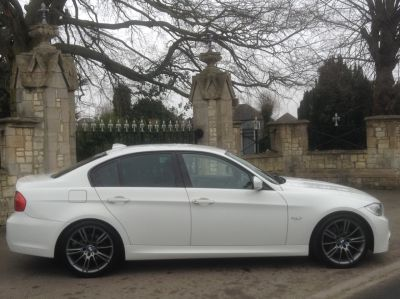 BMW 3 Series 2.0 320d [184] Sport Plus Edition 4dr Saloon Diesel WhiteBMW 3 Series 2.0 320d [184] Sport Plus Edition 4dr Saloon Diesel White at New March Car Centre March