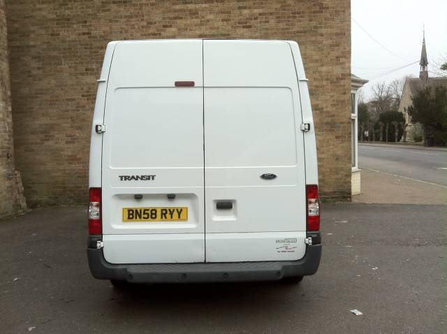 Ford Transit 2.2 Medium Roof Van TDCi 85ps Panel Van Diesel White