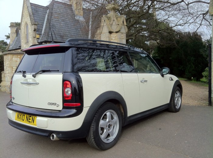 Mini Clubman 1.6 Copper D Chilli Pack Estate Diesel Pepper White