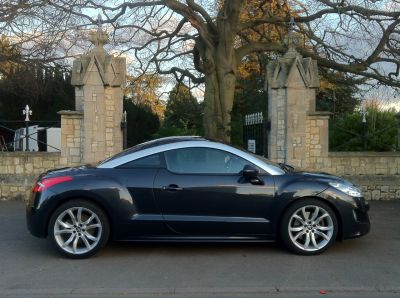 Peugeot RCZ 1.6 THP GT [200] 2dr Coupe Petrol GreyPeugeot RCZ 1.6 THP GT [200] 2dr Coupe Petrol Grey at New March Car Centre March