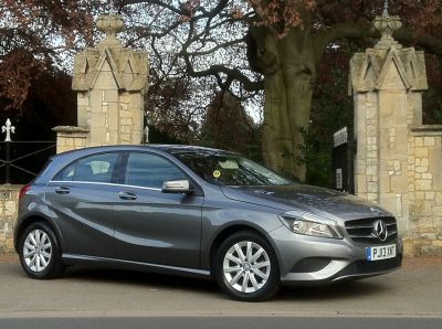 Mercedes-Benz A Class 1.5 A180 CDI BlueEFFICIENCY SE 5dr Hatchback Diesel GreyMercedes-Benz A Class 1.5 A180 CDI BlueEFFICIENCY SE 5dr Hatchback Diesel Grey at New March Car Centre March