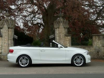BMW 1 Series 2.0 118i Sport 2dr  Convertible Step Auto Convertible Petrol WhiteBMW 1 Series 2.0 118i Sport 2dr  Convertible Step Auto Convertible Petrol White at New March Car Centre March