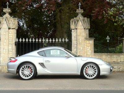Porsche Cayman 3.4 S 2dr Coupe Petrol SilverPorsche Cayman 3.4 S 2dr Coupe Petrol Silver at New March Car Centre March