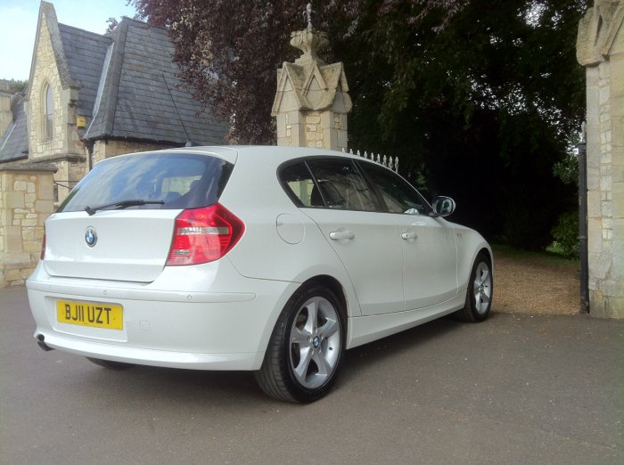 BMW 1 Series 2.0 116d Sport 5dr Hatchback Diesel White