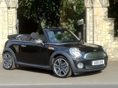Mini Convertible 1.6 Cooper 2dr Auto Convertible Petrol BlackMini Convertible 1.6 Cooper 2dr Auto Convertible Petrol Black at New March Car Centre March