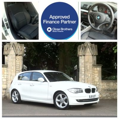 BMW 1 Series 2.0 116d Sport 5dr Hatchback Diesel WhiteBMW 1 Series 2.0 116d Sport 5dr Hatchback Diesel White at New March Car Centre March