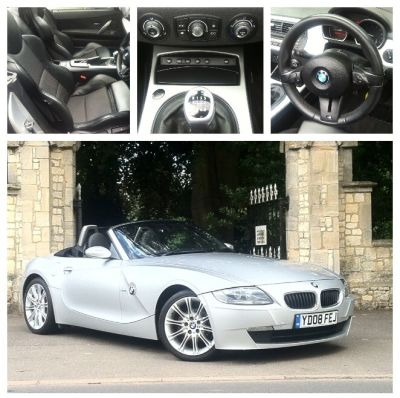 BMW Z4 2.0i Sport 2dr Convertible Petrol SilverBMW Z4 2.0i Sport 2dr Convertible Petrol Silver at New March Car Centre March