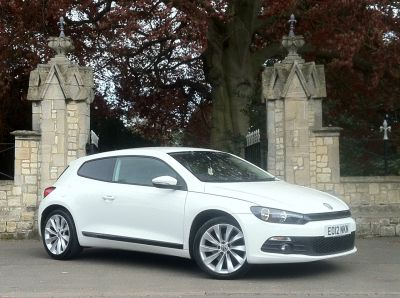 Volkswagen Scirocco 1.4 TSI 122 3dr Coupe Petrol WhiteVolkswagen Scirocco 1.4 TSI 122 3dr Coupe Petrol White at New March Car Centre March