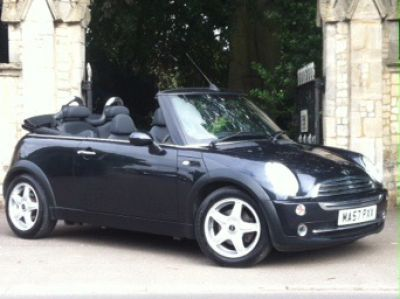 Mini Convertible 1.6 One 2dr Convertible Petrol BlackMini Convertible 1.6 One 2dr Convertible Petrol Black at New March Car Centre March