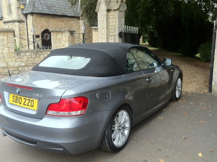 BMW 1 Series 2.0 118d M Sport 2dr Step Auto Convertible Diesel Grey