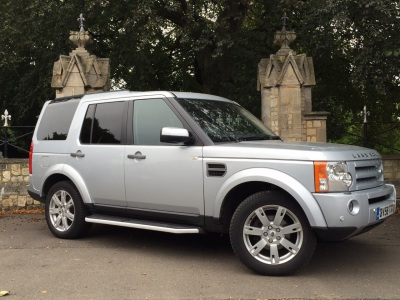 Land Rover Discovery 2.7 Td V6 HSE 5dr Auto Estate Diesel SilverLand Rover Discovery 2.7 Td V6 HSE 5dr Auto Estate Diesel Silver at New March Car Centre March