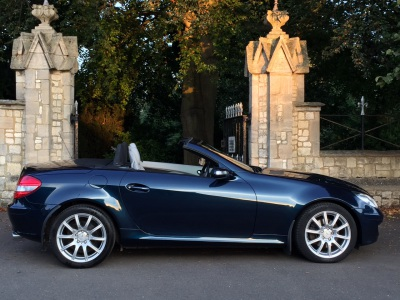 Mercedes-Benz SLK 3.0 SLK 280 2dr Tip Auto Convertible Petrol BlueMercedes-Benz SLK 3.0 SLK 280 2dr Tip Auto Convertible Petrol Blue at New March Car Centre March