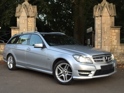 Mercedes-Benz C Class 1.8 C180 BlueEFFICIENCY Sport 5dr Auto Estate Petrol SilverMercedes-Benz C Class 1.8 C180 BlueEFFICIENCY Sport 5dr Auto Estate Petrol Silver at New March Car Centre March