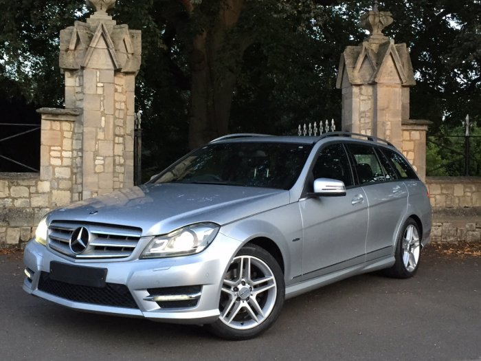 Mercedes-Benz C Class 1.8 C180 BlueEFFICIENCY Sport 5dr Auto Estate Petrol Silver