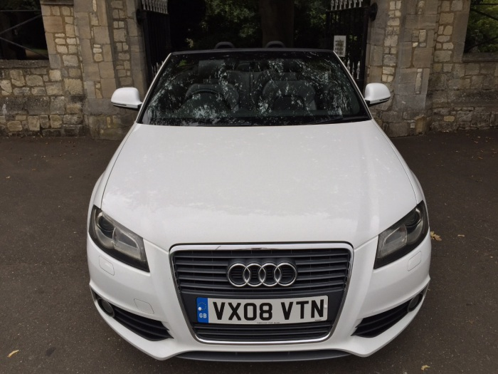 second hand audi a3 2 0 tdi diesel s line 2dr s tronic auto automatic cabriolet for sale in. Black Bedroom Furniture Sets. Home Design Ideas