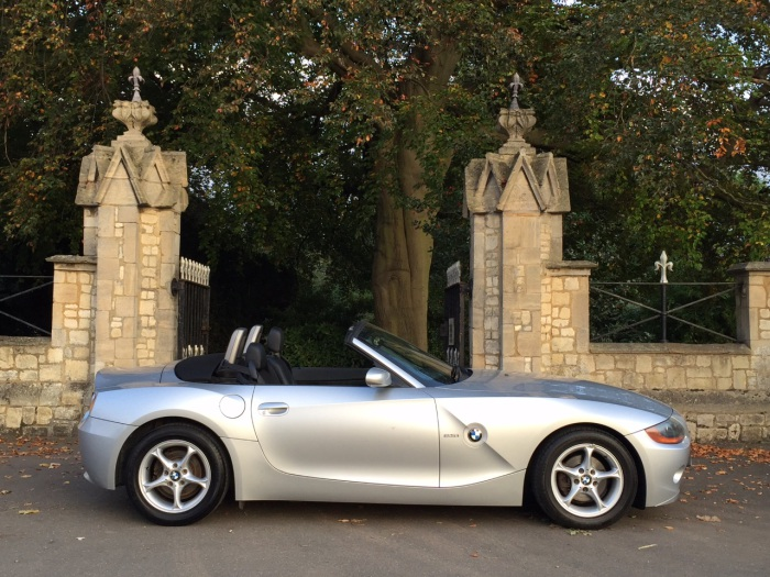 BMW Z4 2.5i 2dr Convertible Petrol Silver