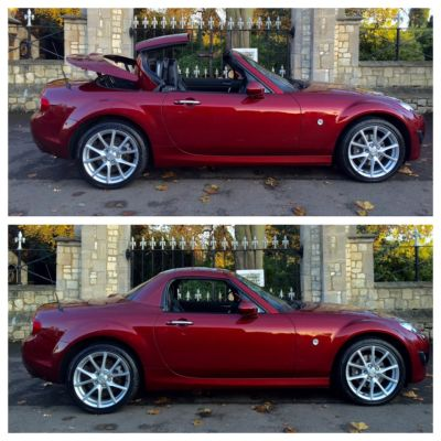 Mazda MX-5 2.0i Sport Tech Hard Top 2dr Convertible Petrol RedMazda MX-5 2.0i Sport Tech Hard Top 2dr Convertible Petrol Red at New March Car Centre March