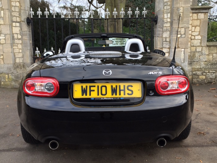 Mazda MX-5 2.0i Sport Tech Roadster Coupe 2dr Convertible Petrol Black