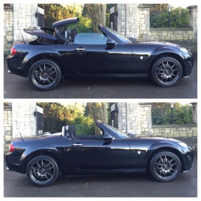 Mazda MX-5 2.0i SE 2dr Convertible Petrol BlackMazda MX-5 2.0i SE 2dr Convertible Petrol Black at New March Car Centre March