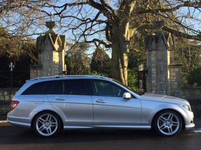 Mercedes-Benz C Class 2.1 C220 CDI Sport 5dr Auto Estate Diesel SilverMercedes-Benz C Class 2.1 C220 CDI Sport 5dr Auto Estate Diesel Silver at New March Car Centre March