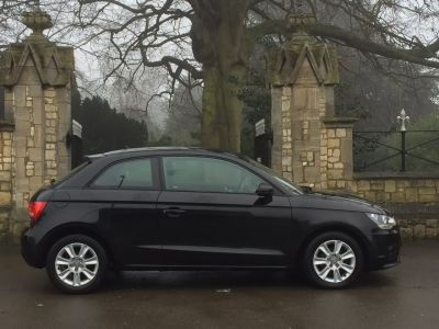 Audi A1 1.2 TFSI SE 3dr Hatchback Petrol BlackAudi A1 1.2 TFSI SE 3dr Hatchback Petrol Black at New March Car Centre March