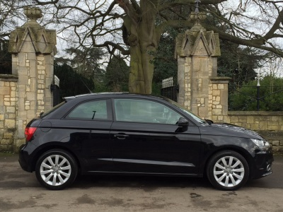 Audi A1 1.6 TDI Sport 3dr Hatchback Diesel BlackAudi A1 1.6 TDI Sport 3dr Hatchback Diesel Black at New March Car Centre March
