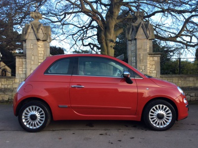 Fiat 500 1.2 Lounge 3dr [Start Stop] Hatchback Petrol RedFiat 500 1.2 Lounge 3dr [Start Stop] Hatchback Petrol Red at New March Car Centre March